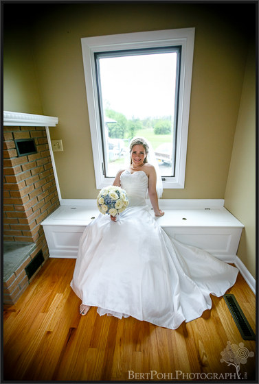 Ashley's bridal portrait upstate ny wedding photographers