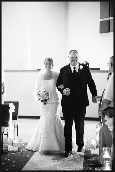 Bethany & Isaac's wedding ceremony at Abundant Life Lowville NY Wedding Photography
