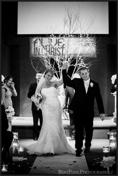 Bethany & Isaac's wedding ceremony at Abundant Life Lowville NY Wedding Photography