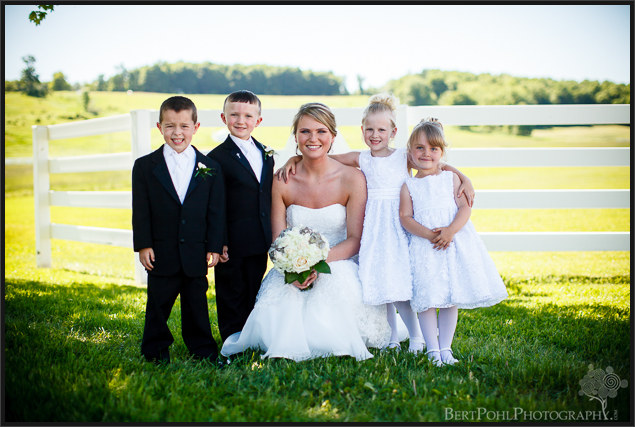 Bethany & Isaac's outdoor summer wedding photograph session near Lowville NY Wedding Photographer