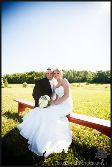 Bethany & Isaac's outdoor summer wedding photograph session near Lowville NY Wedding Photographers