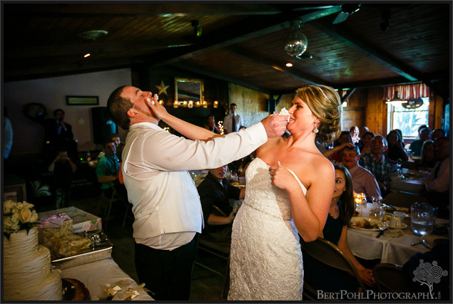 Bethany & Isaac's wedding reception near Lowville NY Wedding Photography