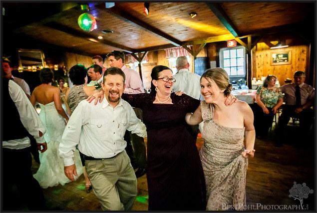 Bethany & Isaac's wedding reception near Lowville NY Wedding Photography