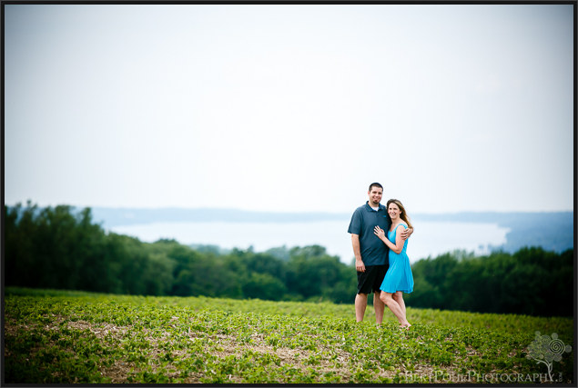 Erica & Ryan's forest Engagement Session Wedding Photographers