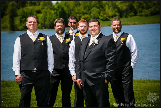 Jenny & Judd's summer outdoor wedding pictures along the river near ogdensburg ny wedding photographer