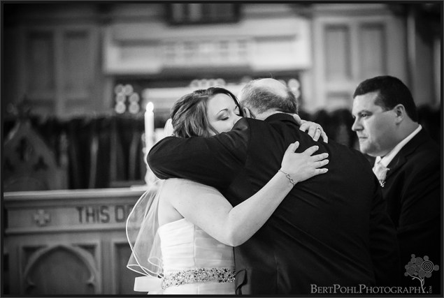 Jenny and Judd's church wedding near ogdensburg ny wedding photographer