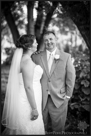 Julia & John's forest  wedding pictures near the Gran View Ogdensburg NY Wedding Photographers