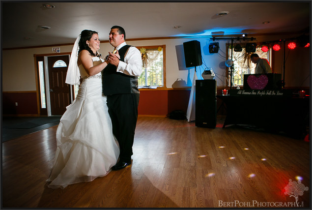 Jenny and Judd's rustic wedding reception near ogdensburg ny wedding photographer