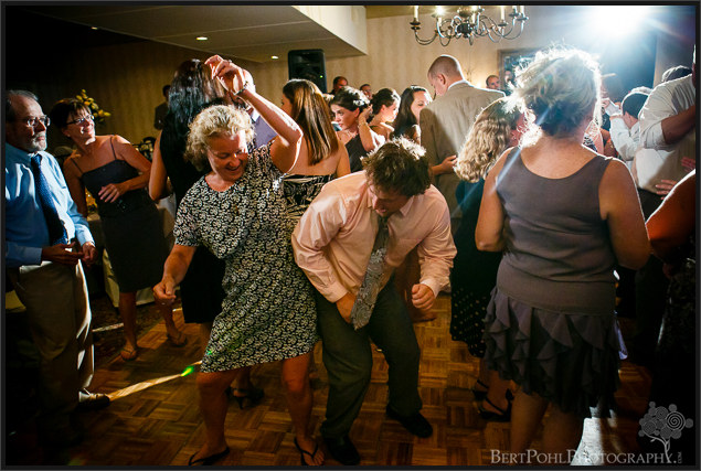 Julia & John's wedding reception pictures at the Gran View Ogdensburg NY Wedding Photographers