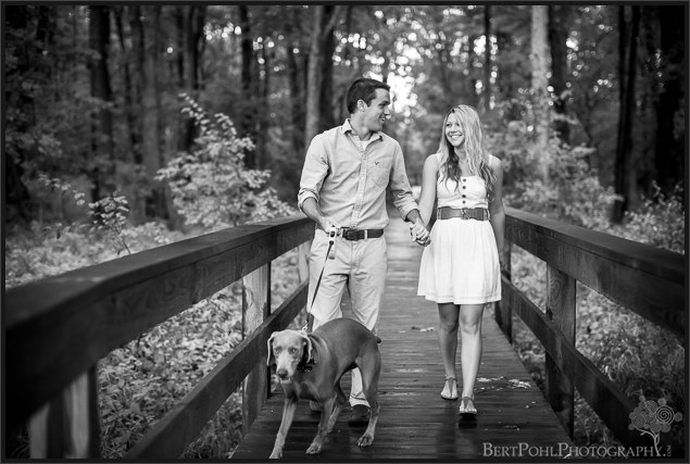 Danielle & Jordan's late summer beach engagement sesson at Black Pond Engagement Photographers