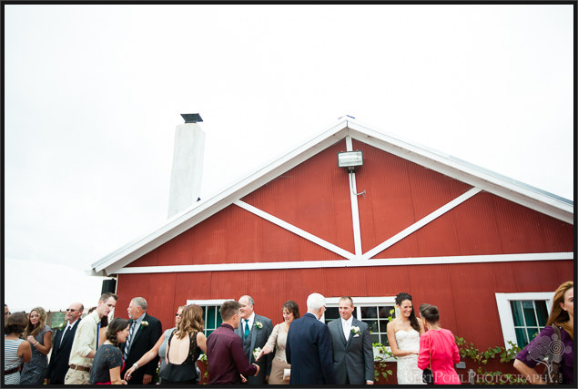 Jen & Randy's late summer wedding at Thousand Island Winery Wedding Photography