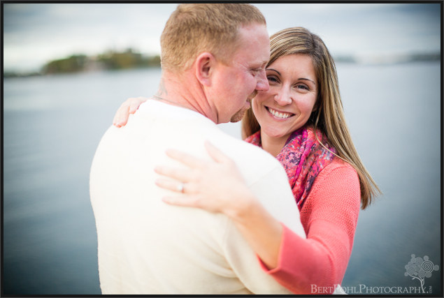 Lindsey & David's Autumn Engagement session in Alexandria Bay Engagement Photographers