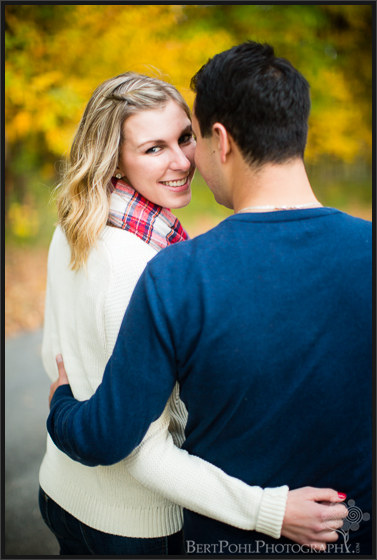 Beth & Brian's coulorful autumn engagement session at Whetstone Gulf State Park Engagement Photography Lowville NY