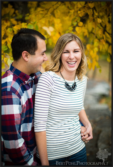 Beth and Brian's outdoor autumn photo session at Whetstone Gulf State Park Engagement Photographers