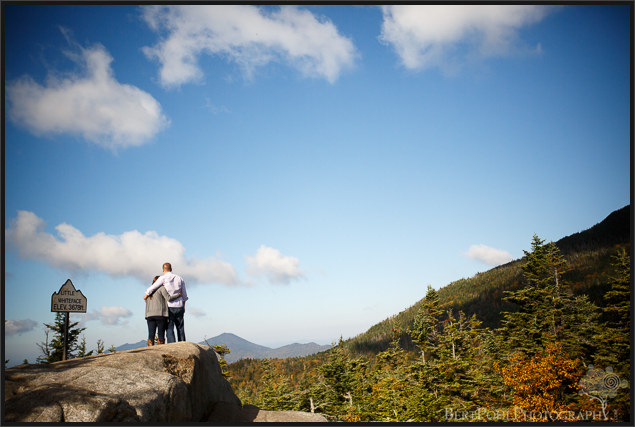 Jordan and Evan's Whiteface Mountain Autumn Mountain Engagement Photographers Upstate NY