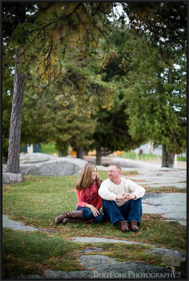 Lindsey & David's Autumn Engagement session in Alexandria BayNY Engagement Photographers