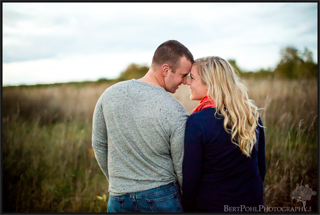 Brittany & Mark's autumn engagement session at Madison Barracks Sackets Harbor NY Engagement Photography