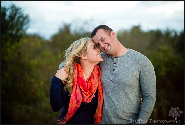 Brittany & Mark's autumn engagement session at Madison Barracks Sackets Harbor NY Engagement Photography
