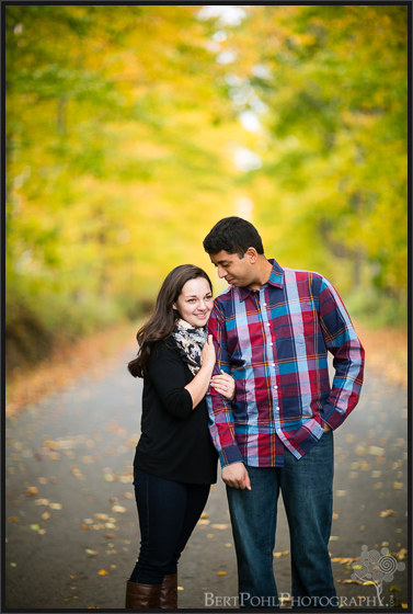 Maria and Rob's colorful Autumn Engagement Session Lowville NY Wedding Photographers