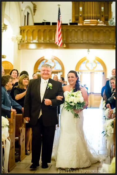 Julia & Michael's church vintage glamour wedding photographer lowville ny