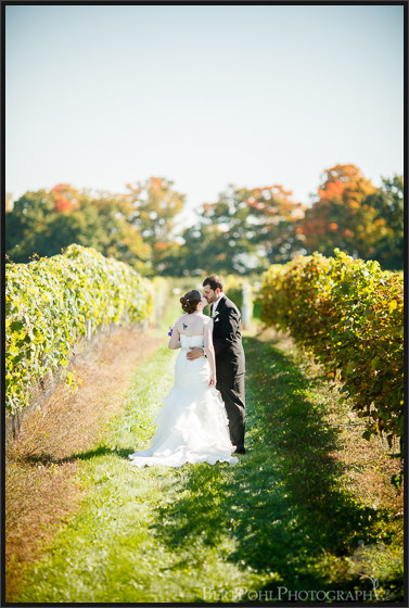 Mandy & Mike's outdoor autumn wedding  at tug hill vineyards wedding photographers