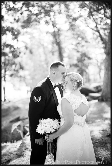 Heather & Joshua's vintage styled wedding pictures at Boldt Castle Wedding Photographer