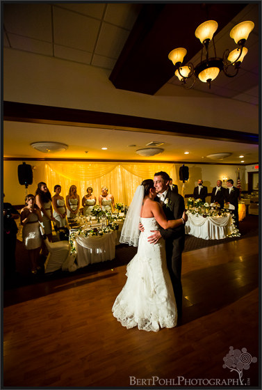 Julia & Michael's vintage glamour wedding reception photographers watertown ny