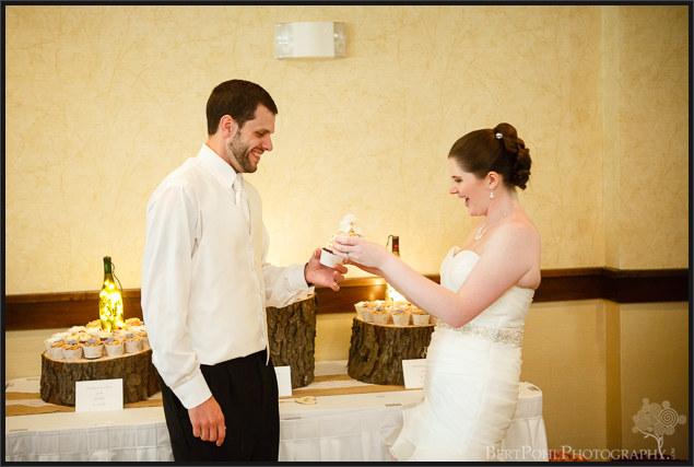 Mandy & Mike's autumn wedding  Watertown NY wedding photographers
