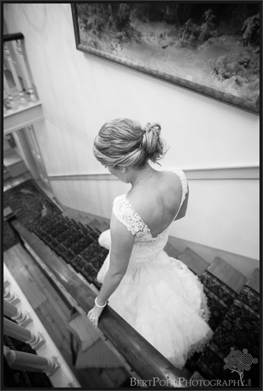 Erica's bridal portrait for her autumn wedding Watertown New York Wedding Photographers