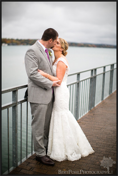 Erica & Ryan's couple pictures for their autumn wedding Upstate New York Wedding Photographers