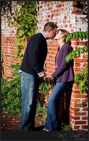 Katie & Shawn engagement photographer watertown ny