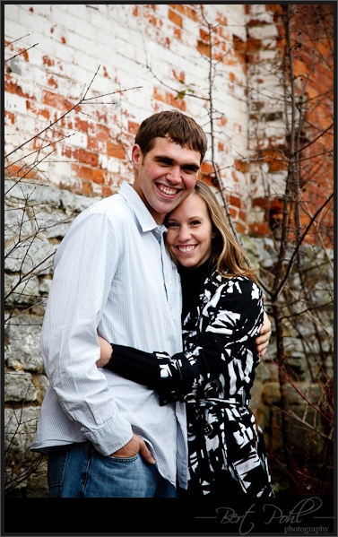 Jessica & Jason engagement photography watertown ny