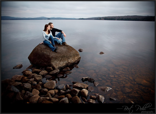 Erin & Kyle Engagement photography upstate new york