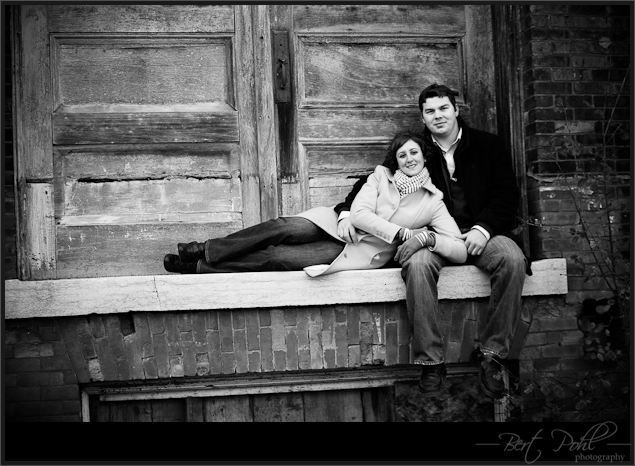Michelle and Brad engagement session madison barracks sackets harbor