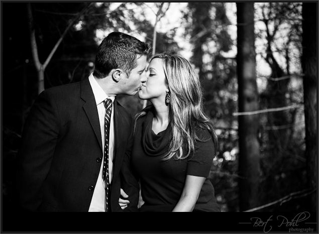 Gina & Matt engagement photography watertown ny