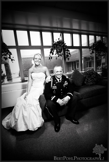 Jessica & Bill couple wedding photos Fort Drum NY