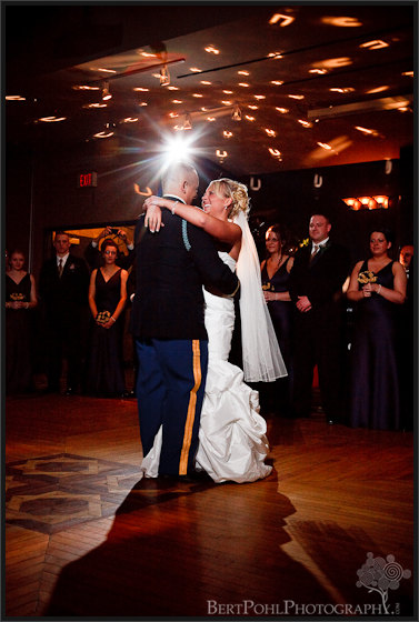 Jessica & Bill First Dance Commons Fort Drum NY